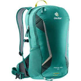 Deuter Race Air Selkäreppu 10l, alpinegreen-forest